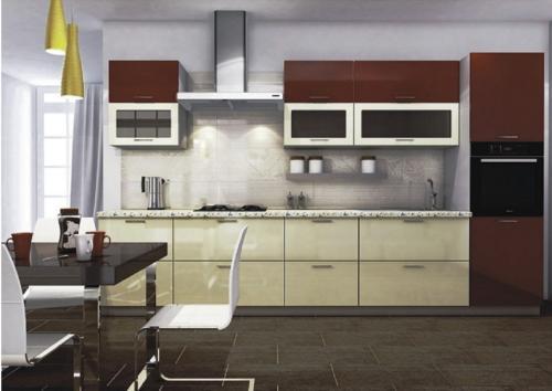 Кухни МДФ04