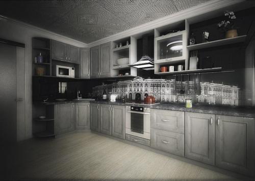 Кухни МДФ16
