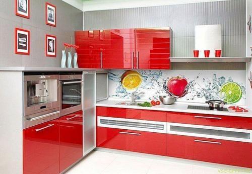 Кухни Пластик 17