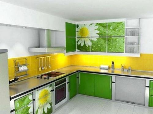 Кухни Пластик 39