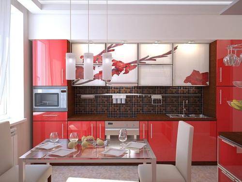 Кухня фотопечать 15
