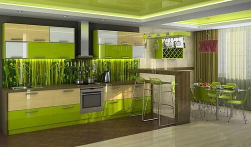 Кухня фотопечать 31