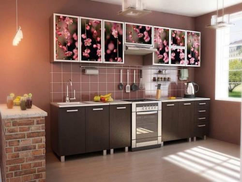 Кухня фотопечать 34