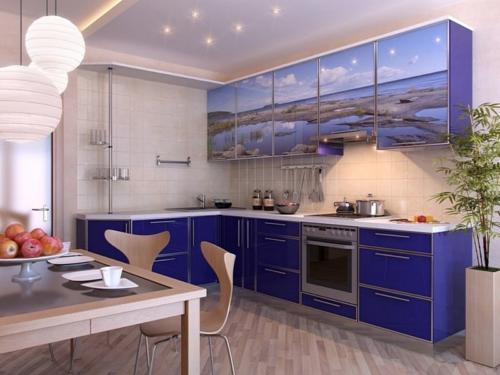Кухня фотопечать 37